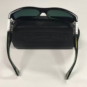 707f43255757 Chrome Hearts Accessories - Chrome Hearts Mens Sunglasses Rejected Black  Rare